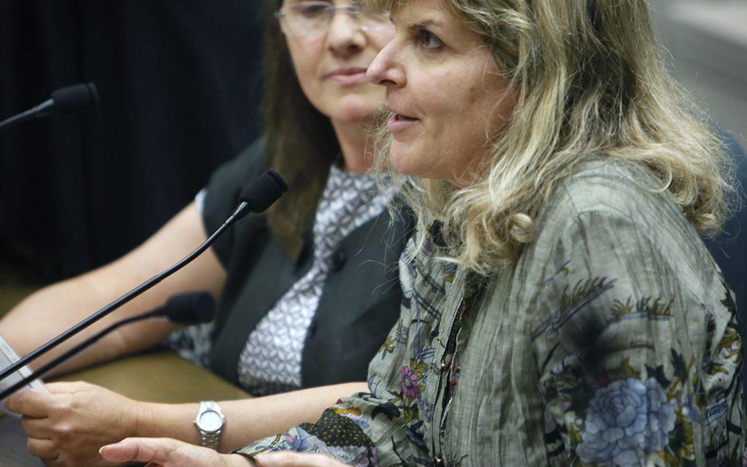 Dr. Jennifer Conrad provides testimony on the negative effects of feline declawing